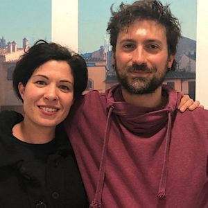 Roberto D'Ippolito e Gaia Bonsignore